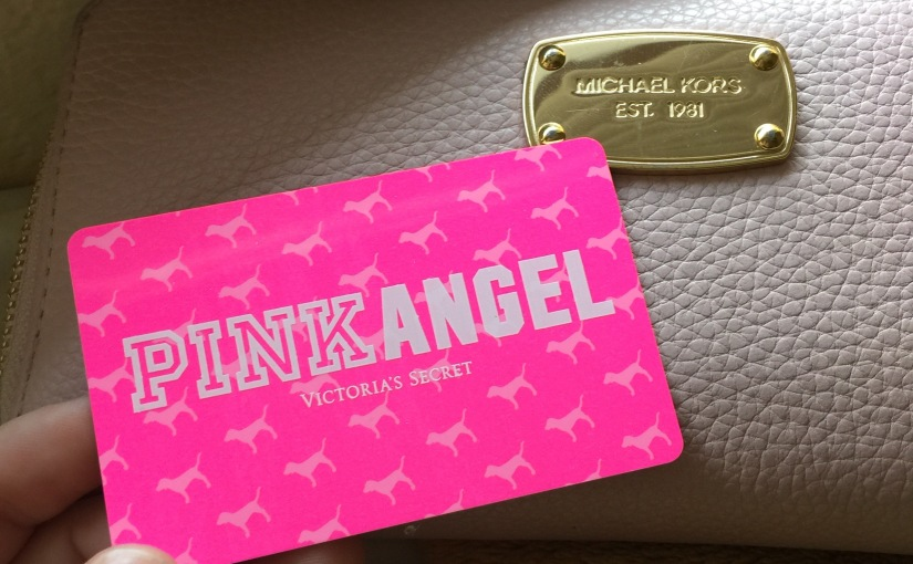 How I Accidentally Got A Victoria's Secret Pink AngelCard